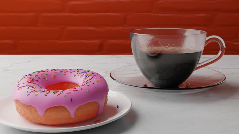 Donut render done