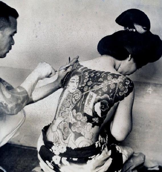 История татуировки в Японии.