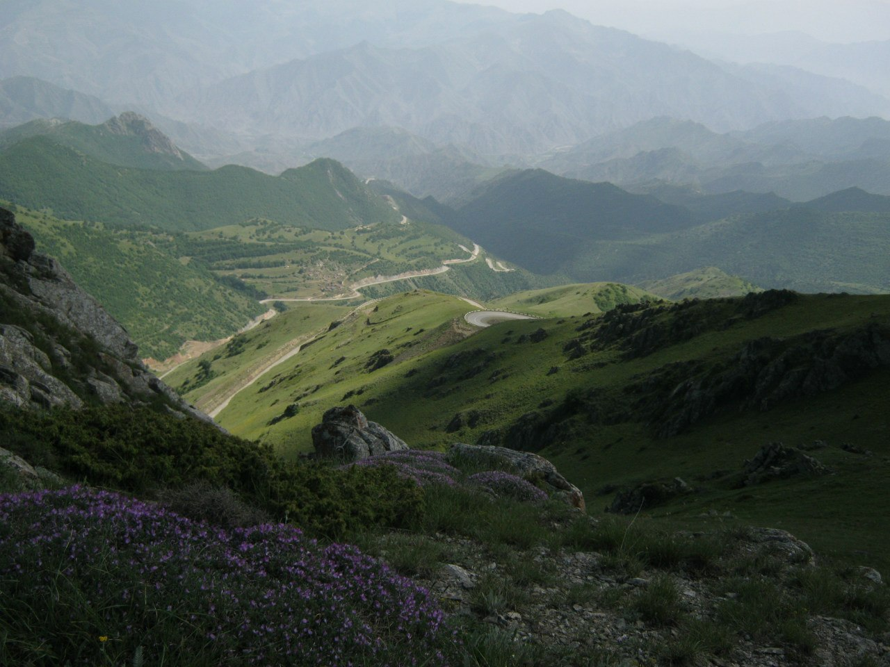 Вид с перевала Гомаран