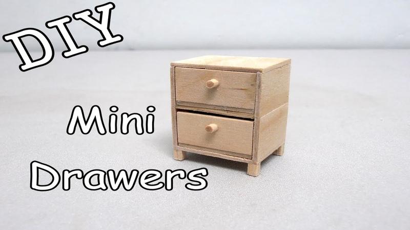 DIY Mini Drawers 19 (Popsicle Stick)