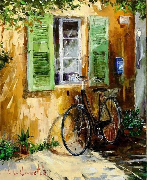 Глеб Голубецкий (Gleb Goloubetsi родился в 1975 в г. Омске. Его отец был членом Союза художников СССР, а дед был архитектором.Мама Глеба Голубецкого в настоящее время владеет галереей в Омске.
