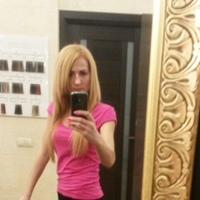 Фотография страницы Оли Лейкович ВКонтакте