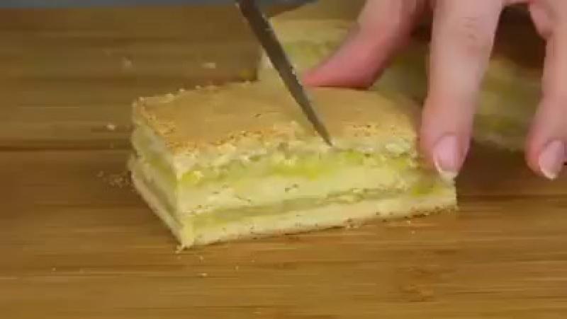 Домашнее пирожное с лимонно-апельсиновой начинкой ~ Умный Дом ~