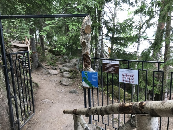 В парке «Монрепо» закрыли эко-тропу до декабря▬▬▬▬▬▬▬▬