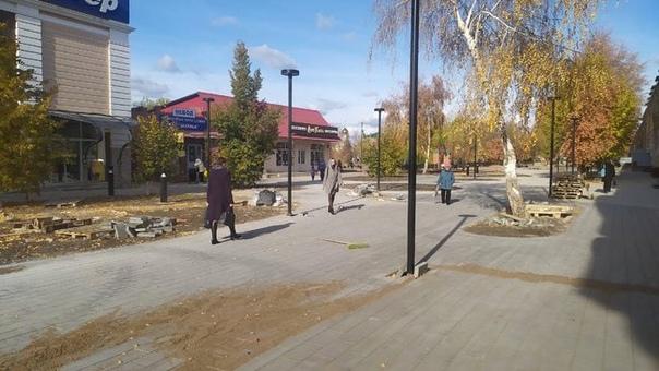 Фонари в центре Бузулука обсуждают даже в ОрскеБло...