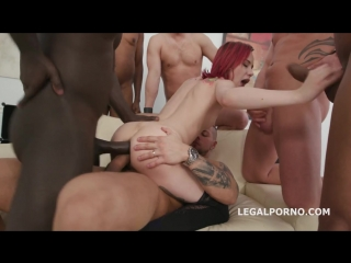 [PornoWorld] Kira Roller (Gangbang, Lingerie, Stockings, DP, Interracial, DAP, Anal, A2M, Gape, Pissing, Piss Drink)