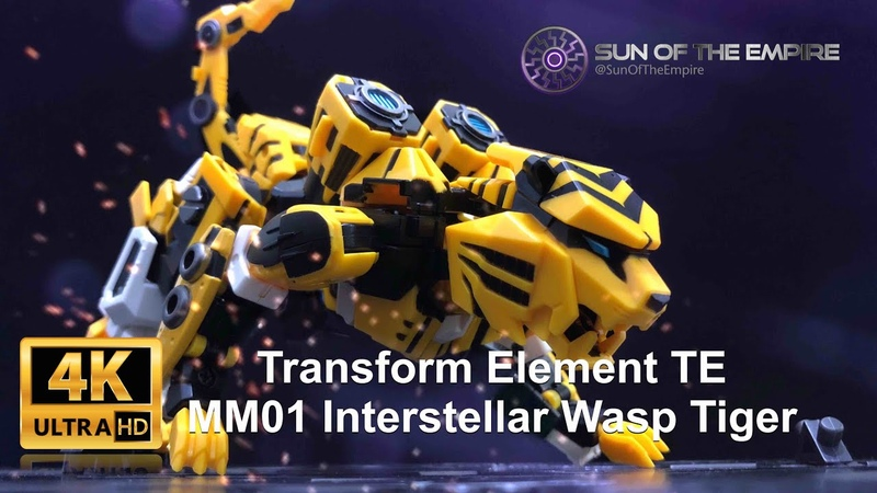 [SimplyTransform 13] Transform Element TE MM01 Wasp Tiger | T- Beast Bumblebee (Robo to Beast)