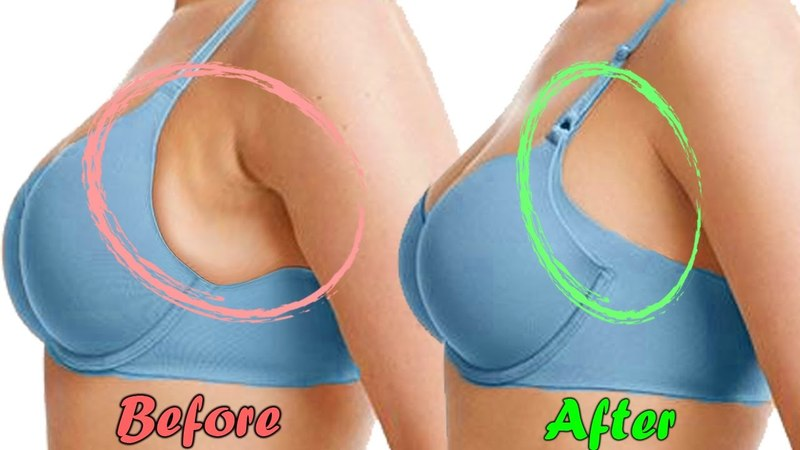 How to Get Rid of Side Breast Fat Fast with 5 Easiest Exercises Remove Armpit Fat NOW!