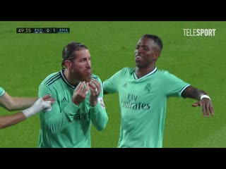 Реал Сосьедад  Реал Мадрид. Гол Серхио Рамоса