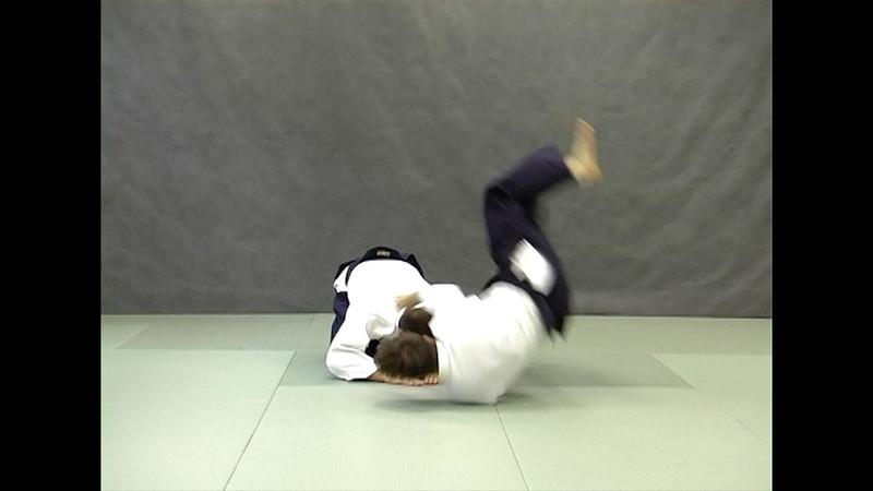 Ushiro ryokata dori kokyunage var 1 Справочник техник айкидо Aikido techniques reference