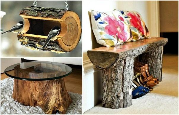 Не спешите пускать старые пни на дрова