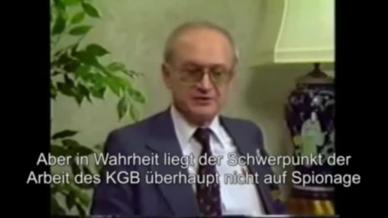 Yuri Bezmenov Die 4 Stadien des Umsturzes einer Nation de