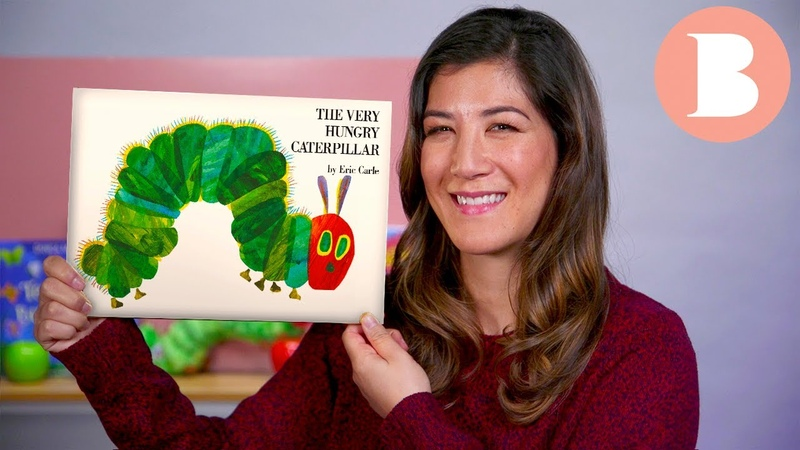 The Very Hungry Caterpillar - Read Aloud Picture Book   Brightly Storytime