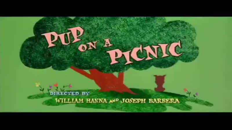 Tom and Jerry Pup On A Picnic Intro Russian