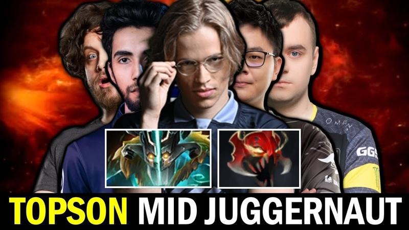 MID Juggernaut is Back TOPSON Madness Meta vs SUMAIL GORGC Dota 2