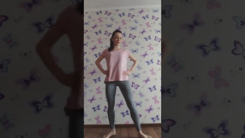 Клуб села Бирюки Занятие в танцевальном коллективе Разучивание танца Tango Experimental