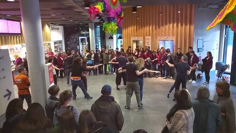 Espirito Latino and friends: Brazilian Zouk Flashmob @ HOME 1