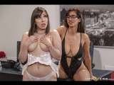Brazzers lesbi_Detention With The Domme Isis Love &amp Jenna Sativa_HAM Hot And Mean August 26, 2018