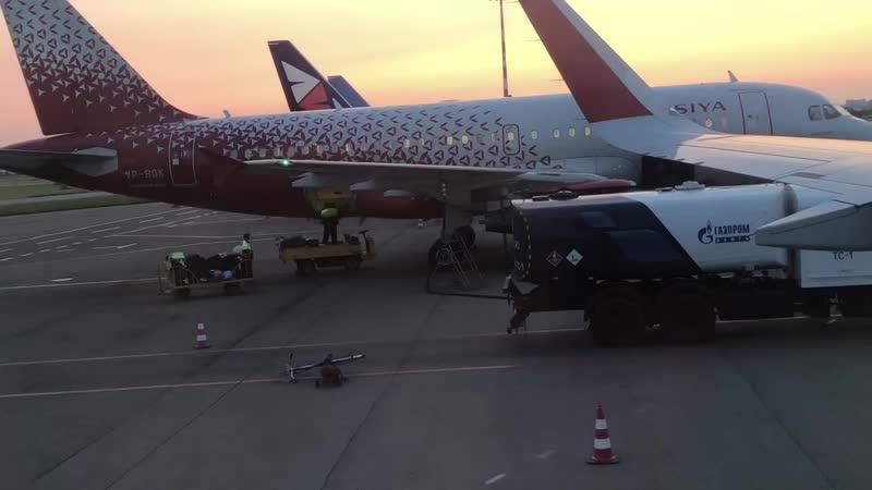аэропорт Омск Центральный 20 07 19 время 4 45