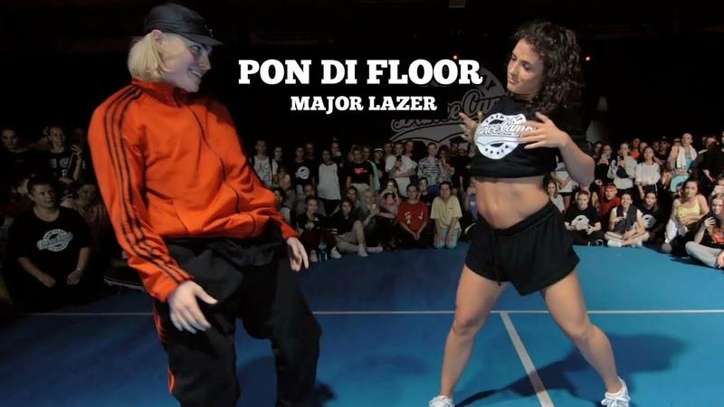 Pon Di Floor - Major Lazer. Choreography by Zacc Milne. Danced with Jade Chynoweth