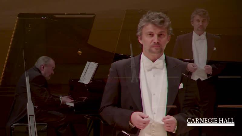 Jonas Kaufmann Das Wandern Schubert's Die schöne Müllerin D 795