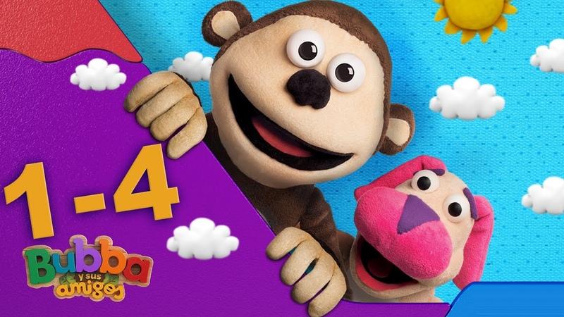 Mono Bubba y sus amigos Episodios 1 4 Videos infantiles