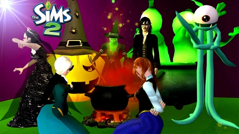 The Sims 2 Weird Story From Bewitched Forest