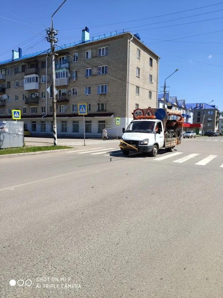 В рамках муниципальной программы «Повышение безопасности дорожного движения на территории Петровска» на автодорогах города ведутся работы по нанесению разметки