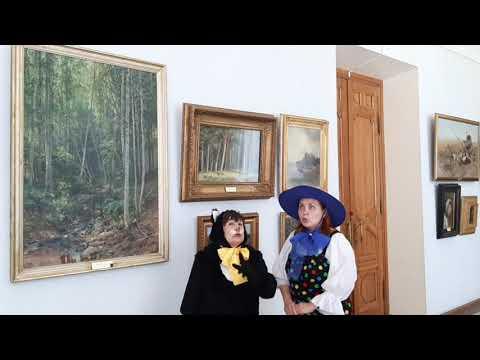 Приключения Кота и Незнайки в Пензенской картинной галерее