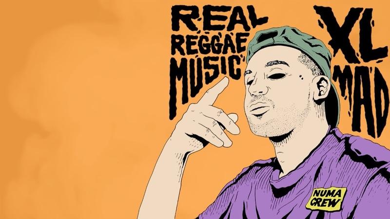XL Mad Real Reggae Music Lyric Video NUMARECRB003