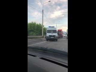Видео с места смертельного ДТП с фурой под Воронежем - Регион - 36
