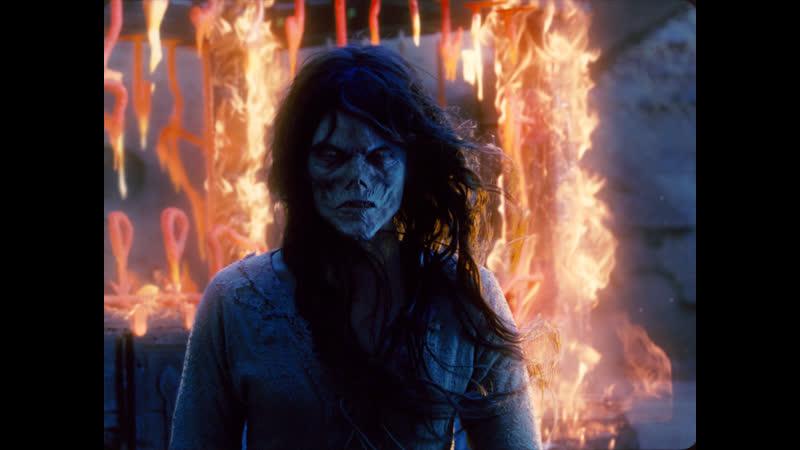 Сцена изгнания дьявола х ф Время ведьм 2011 г
