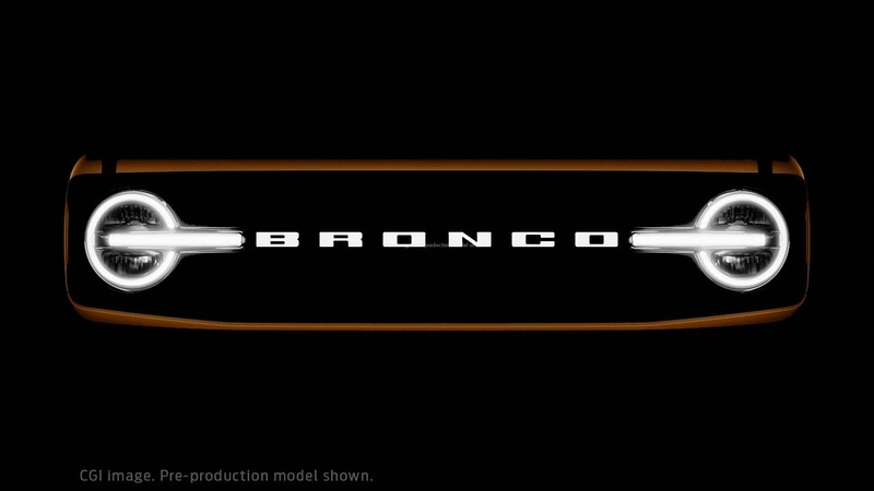 2021 Bronco Family World Premiere Ford