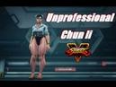 Street Fighter 5 mods unprofessional chun li