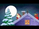 Дед Мороз и экстази. Новогодний мультфильм. Веселая песня и прикольная анимация