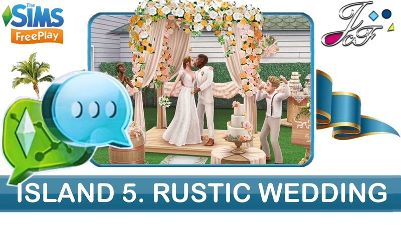 Sims FreePlay 🌾👰🏼💍 | INFLUENCE ISLAND SE. 5 | RUSTIC WEDDING | (Early Access) 🔑