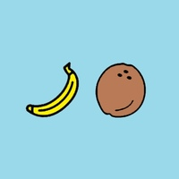 Логотип кокосовыЕбананы