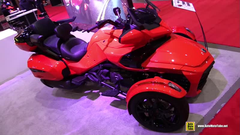 2020 Can Am Spyder F3 Limited - Walkaround - 2020 Toronto Motorcycle Show