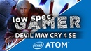 Devil May Cry 4 Special Edition On Intel Atom! FPS Boost tweaks (GPD Win, GPD Pocket)