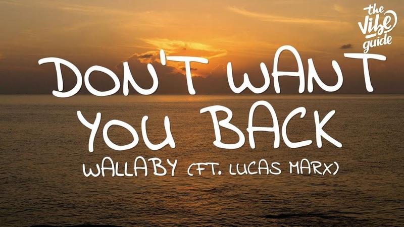 Wallaby - Dont Want You Back (Lyrics) ft. Lucas Marx