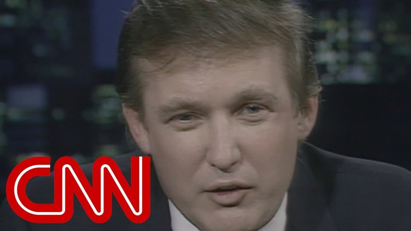 Donald Trump I dont want to be president - entire 1987 CNN interview (Larry King Live)