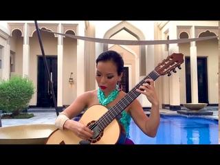 Recuerdos de la Alhambra ( ) played by Thu Le, classical guitar