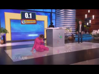 Sarah Paulson Screaming on The Ellen Show for 3 Minutes