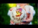 Елочный шарик ручной работы 8 см Fairy / Феечка