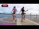 Спортивные Красотки Классно Танцуют. Sporty Beauties Coolly Dance in front of the camera