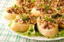 Бутерброды с сельдью и орехами