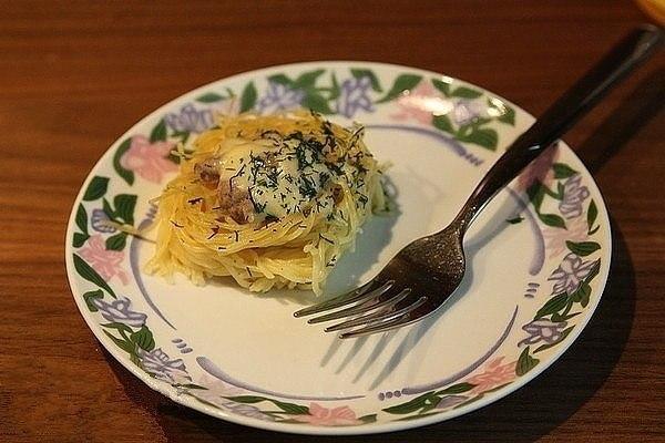 Гнезда - быстро, вкусно и очень просто