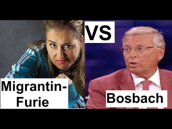 Migrantin-Furie (Idil Baydar) - gegen - Wolfgang Bosbach