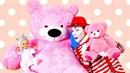 Беби Бон и Розовый медведь - Смешные видео. Мультики для детей