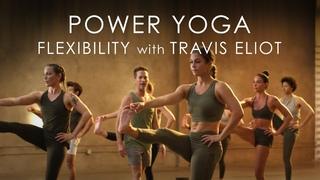 FULL Power Yoga Flexibility Class (60min.) with Travis Eliot - Level Up 108 Program